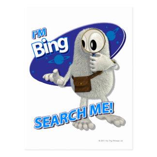 Tiny Planets Bing - Search me! Postcard