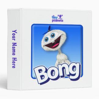Tiny Planets Bong - Beanie 3 Ring Binder