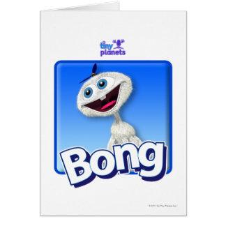 Tiny Planets Bong - Beanie Card