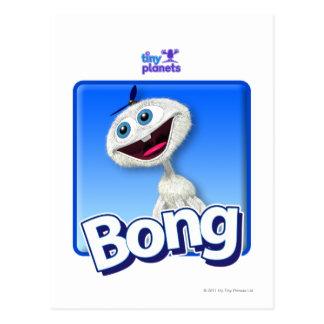 Tiny Planets Bong - Beanie Postcard