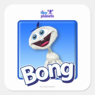Tiny Planets Bong - Beanie Square Sticker