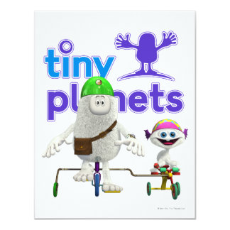 Tiny Planets Easy Rider Card