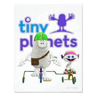 Tiny Planets Easy Rider 4.25x5.5 Paper Invitation Card