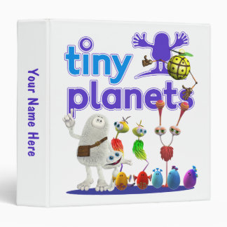 Tiny Planets Family 3 Ring Binders