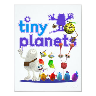 Tiny Planets Family Card