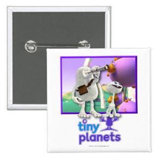 Tiny Planets Flocker Spotter Pin