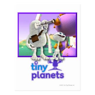 Tiny Planets Flocker Spotter Postcard