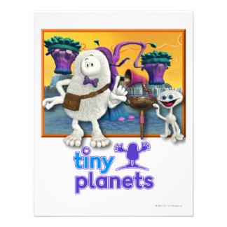 Tiny Planets Jammin' Session Custom Invitation