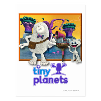 Tiny Planets Jammin' Session Postcard