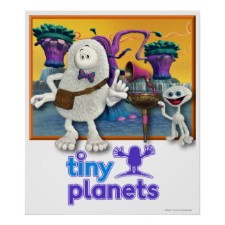 Tiny Planets Jammin' Session Poster