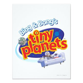 Tiny Planets Logo Card