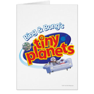 Tiny Planets Logo Greeting Card