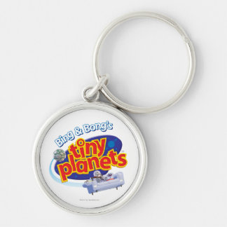 Tiny Planets Logo Key Chains