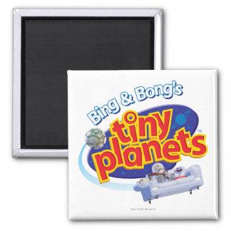 Tiny Planets Logo Magnets