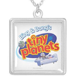 Tiny Planets Logo Necklace
