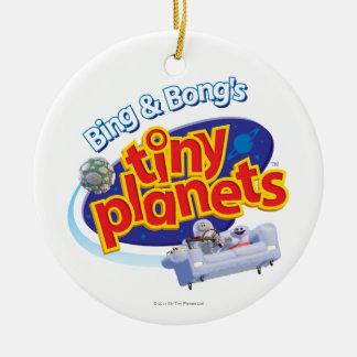 Tiny Planets Logo Ornament