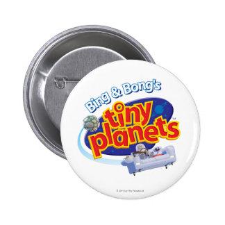 Tiny Planets Logo Pinback Button