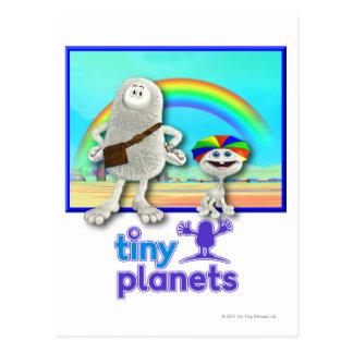 Tiny Planets - Making Rainbows Postcard