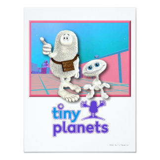 Tiny Planets - Planet of Stuff 4.25x5.5 Paper Invitation Card