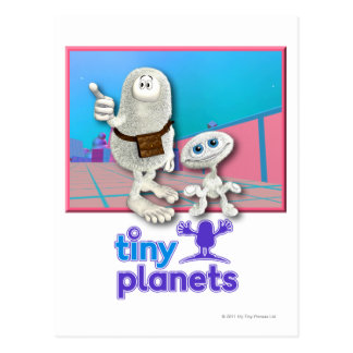 Tiny Planets - Planet of Stuff Postcard