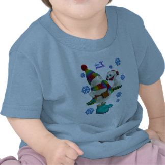 Tiny Planets Snow Problem T Shirts
