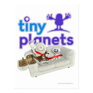 Tiny Planets Sofa Safari Postcard