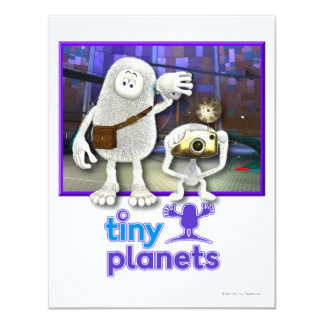 Tiny Planets - Time to Go Card