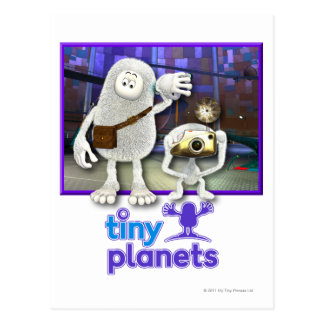 Tiny Planets - Time to Go Postcard