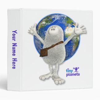 Tiny Planets Whole World 3 Ring Binder