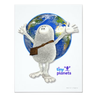 Tiny Planets Whole World Card