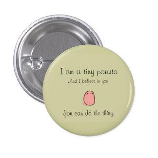 Tiny potato button pins