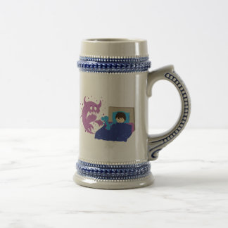 Tiny Protector T-Rex Beer Stein Coffee Mugs