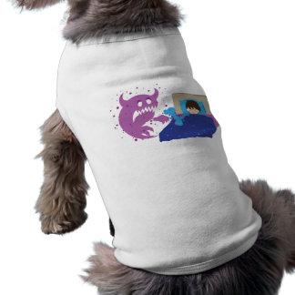Tiny Protector T-Rex Dog Shirt