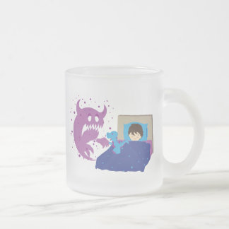 Tiny Protector T-Rex Frosted Coffee Mug