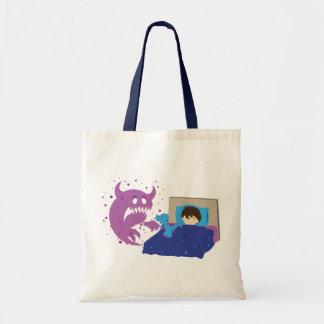 Tiny Protector T-Rex Tote Bag