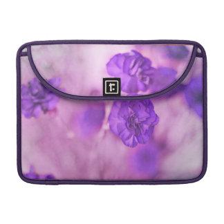 Tiny Purple Flowers MacBook Sleeve Sleeves For MacBooks