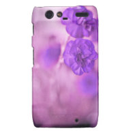 Tiny Purple Flowers Motorola Droid RAZR Case