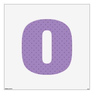 Tiny Purple Polka-Dots on Purple Wall Decal