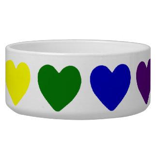 Tiny Rainbow Hearts Bowl