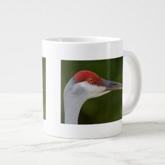 Tiny Red Feathers Extra Large Mug
