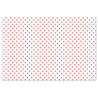 "Tiny Red Polka Dots 20"" X 30"" Tissue Paper"