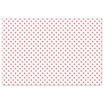 Tiny Red Polka Dots Tissue Paper