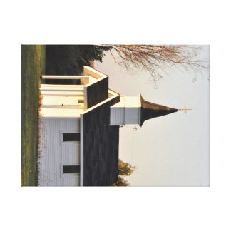 Tiny Roadside Chapel Canvas Print