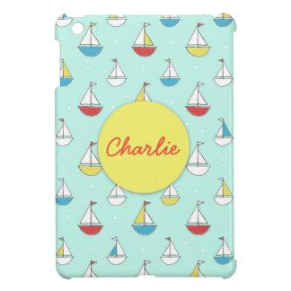 Tiny Sailboats Cover For The iPad Mini