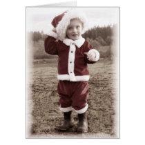 Tiny Santa 3 Card