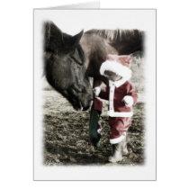 Tiny Santa Card