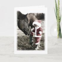 Tiny Santa Holiday Card