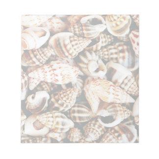 Tiny Seashells Notepad