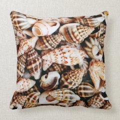 Tiny Seashells Pillow