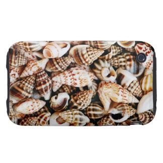 Tiny Seashells Tough iPhone 3 Covers